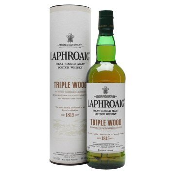 Laphroaig Triple Wood Islay Single Malt Scotch Whisky