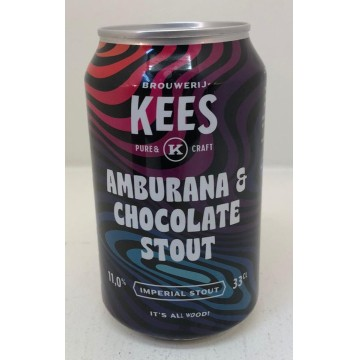 Brouwerij Kees Amburana & Chocolate Stout