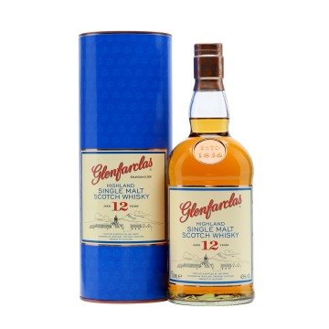 Glenfarclas 12 Years Old Single Speyside Single Maltwhisky
