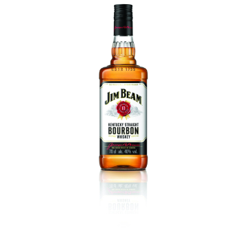 Jim Beam Bourbon White Kentucky Straight Whiskey